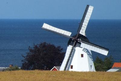 Bornholm i morze Bałtyckie